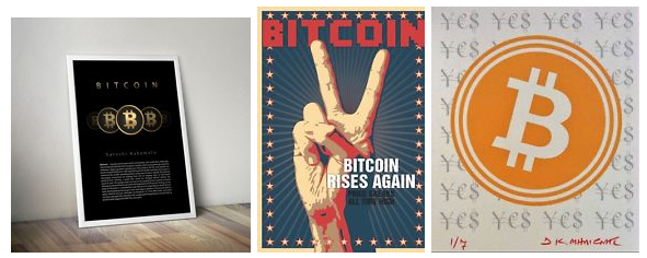Bitcoin art and Prints